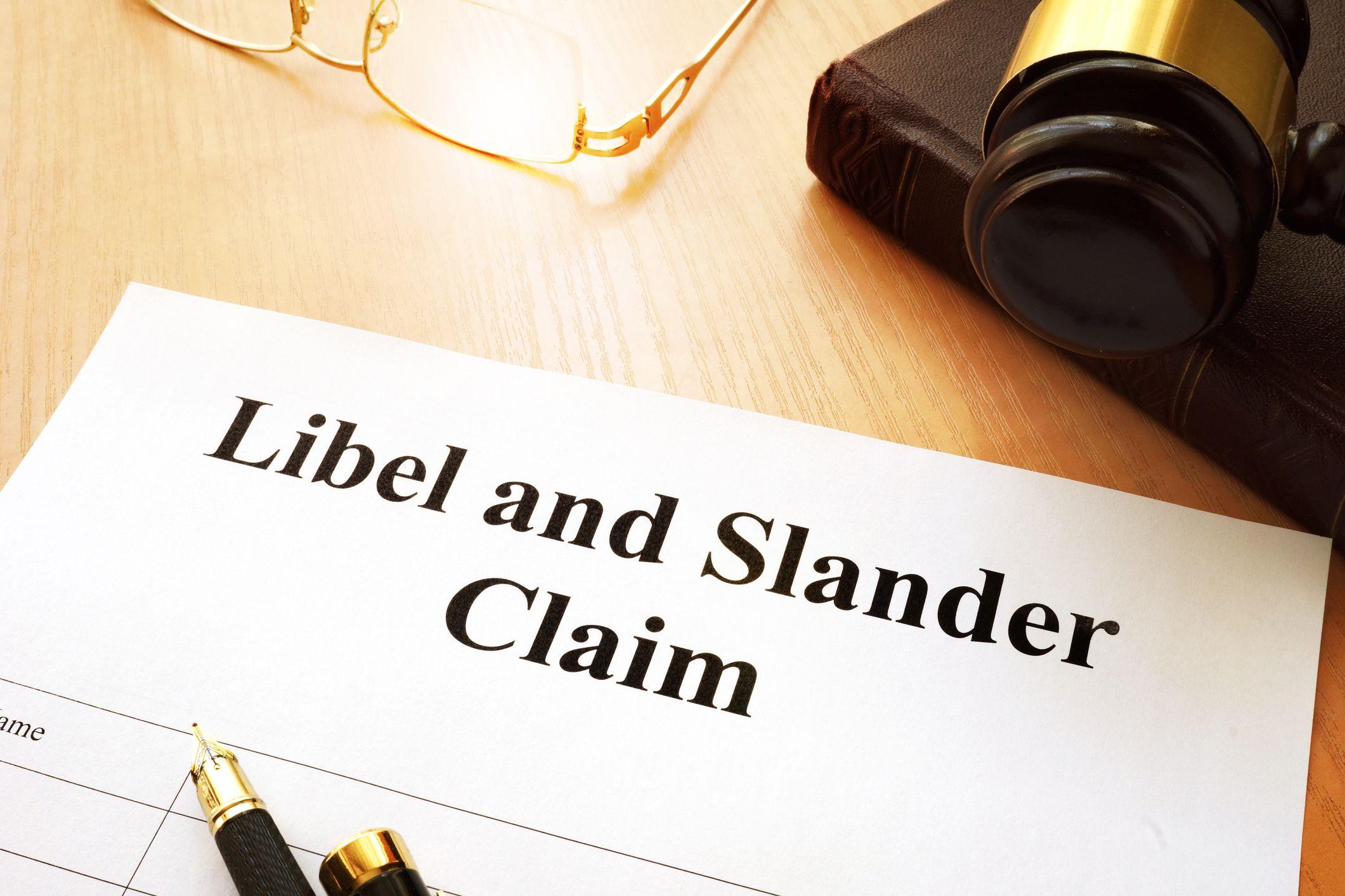 libel vs slander vs defamation singapore law