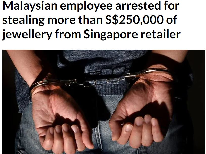 proving employee theft singapore