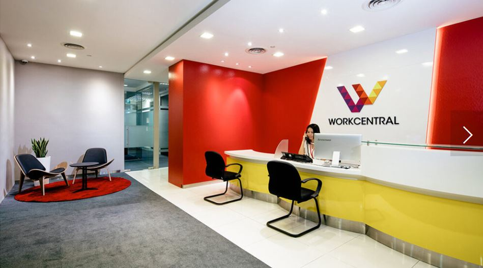 workcentral concierge cheap coworking space