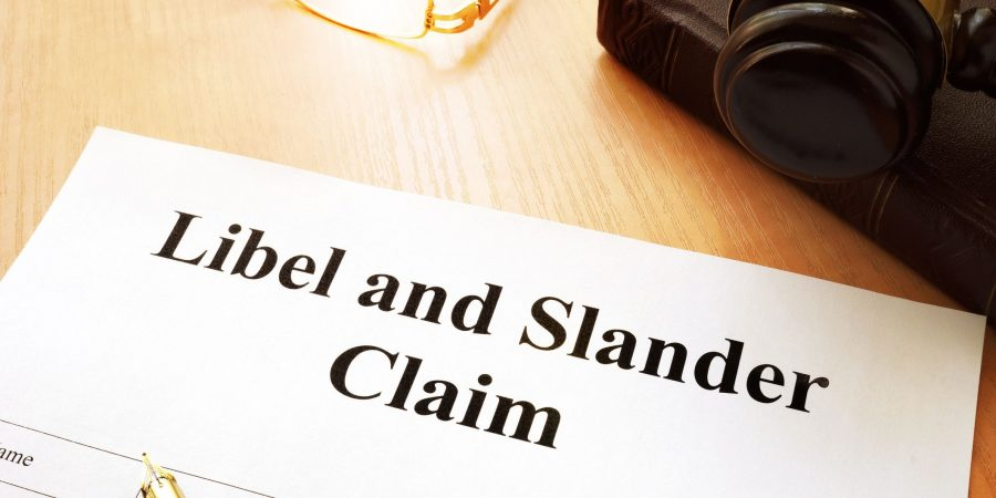 libel vs slander vs defamation singapore law